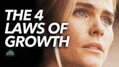 The 4 Important Laws of Growth (PAY ATTENTION) Motivational Videos Youtube, Sport Motivation, Self Improvement Tips, Inspirational Message, Growth Mindset, The 4, Pay Attention, Self Help, Law