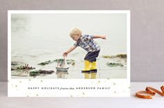 Midnight Clear by Olivia Kanaley at minted.com