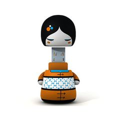 Ayane 8 GB USB Stick, 25€, by Deego Toys !!