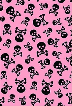 Dazzle my droid pink rocker wallpaper collection girly skulls background skull and wallpaper image voltagebd Image collections