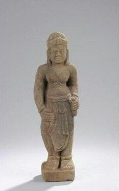 Female deity. Vietnam. Cham Culture. Kingdom of Champa. Vijaya period. 11th to 12th century