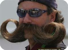 Moustache!!!!!! This is amazing! Kinda makes me wish I was a man just so I could have one!