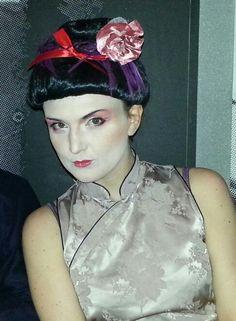 geisha carnival look