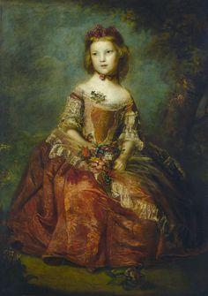 """Sir Joshua Reynolds,   """"Lady Elizabeth 'Betty' Hamilton"""" (1758)"""