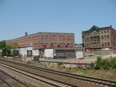 The Homans Building and location of future Gilman Square Green Line Train stop