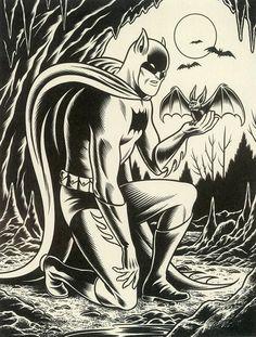 generic-art: batman by charles burns