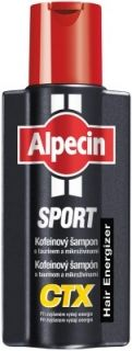 Alpecin SPORT Kofeinový šampon CTX 250 ml Prevent Hair Loss, Shampoo, Drinks, Sport, Caffeine, Germany, Cosmetics, Free Shipping, Products