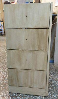 Tutorial c mo pintar madera con efectos envejecidos for Pintar muebles de formica
