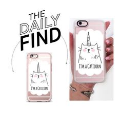 """The Daily Find: Casetify iPhone Case"" by polyvore-editorial ❤ liked on Polyvore featuring DailyFind"