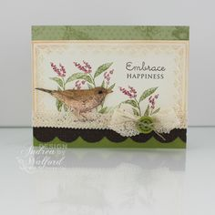 stampin up mother's day ideas | ... Stampin' Up! Card Featuring Nature Walk Stampin' Up! Stamp Set