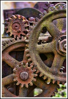 Rusty Cogs... by =TheBaldingOne on deviantART
