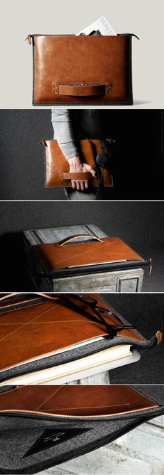 #hardgraft Grab Laptop Folio