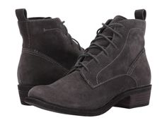 Dolce Vita Seema Anthracite Suede Bootie - Holly & Brooks