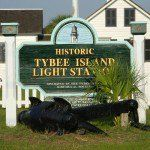 Market at the Tybee Island Lighthouse