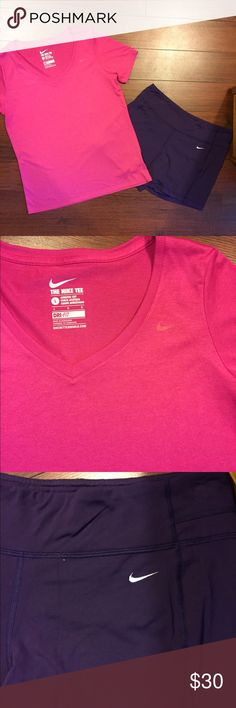 Nike dri-fit outfit. Perfect ❤ Nike dri-fit outfit. Perfect for working out 🏋 Nike Tops Tees - Short Sleeve