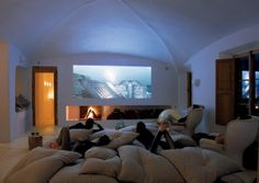 home theater lounge