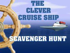 Cruise ship scavenger hunt game