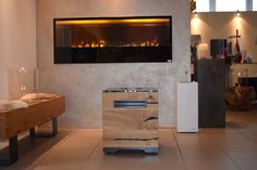 Pelmondo Fire Cube Elegant, Modern, Cube, Flat Screen, History, Home Decor, Environment, Ad Home, Classy