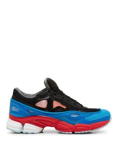 Raf Simons Black and Blue Ozweego 2 Low Top Sneaker-SS15RAFS11 - Sneakerboy