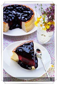 Mi dulce tentación: Tarta esponjosa de Queso