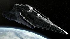 Alien's Ship from Stargate Atlantis