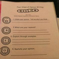 WriteSteps 4th Grade Opinion Writing