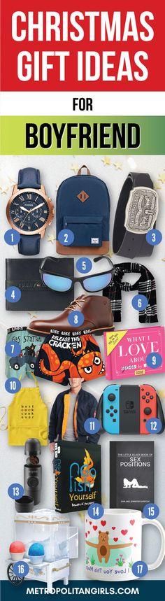 Christmas Gift Ideas for Boyfriend 2017