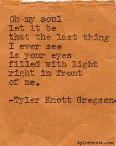 tylerknott:    Typewriter Series #75 by Tyler Knott Gregson