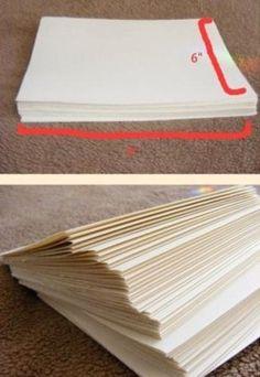 Comment fabriquer un livre, le tutoriel en images ! Faire Un Album Photo, Iris Folding, Diy Notebook, Book Binding, Kirigami, Scrapbook Albums, Book Making, Altered Books, Mini Albums