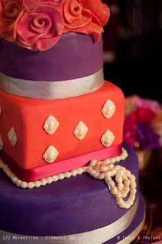 Bollywood wedding cake