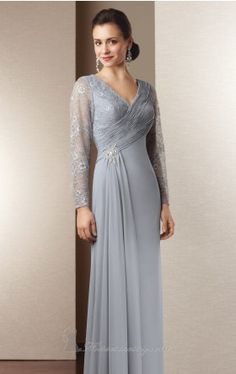 long sleeved evening gown alyce jean Alyce Designs 29566 Dress