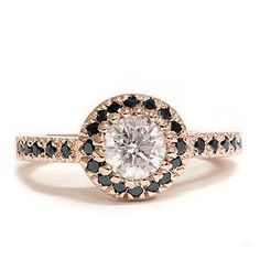 I love the rose gold and black diamonds!!!