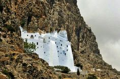GREECE CHANNEL |  Monastery in Amorgos island!!