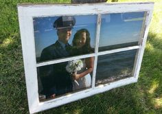 Great idea for a beach wedding! Keep this in your mind to take a picture with enough back ground to the side of you photo.