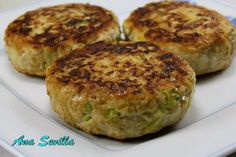 Hamburguesas con verduras Ana Sevilla con Thermomix