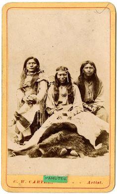 Paiute men – 1869