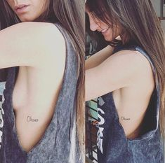 cute simple petite ohana tattoo in cursive on side body. Tattoo Ohana, Tattoo Platzierung, Herz Tattoo, Tattoo Trend, Piercing Tattoo, Piercings, Small Side Tattoos, Tattoos On Side Ribs, Forearm Tattoos