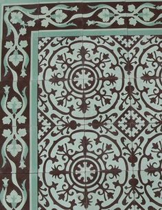 Cuban tile...i would love this in any room