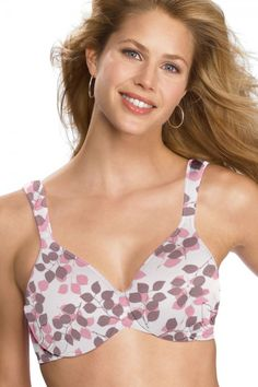f3eaf74011 Bali Live It Up Seamless Underwire Bra. Look shapelier in total comfort!  Full Figure