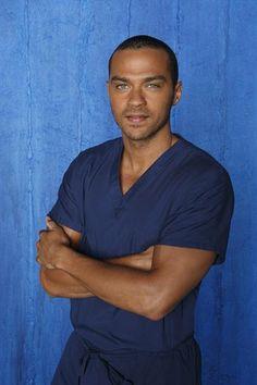 Grey's Anatomy Season 9 Promo Pics: Jesse Williams (Jackson Avery)