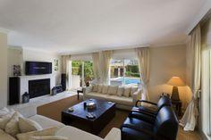 A charming and spacious 4 bedroom villa in Aloha - #Aloha #livingspace #contemporary #design #luxury #NuevaAndalucia