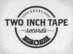 Dribbble - Two Inch Tape Logo 01.2 by Joshua Krohn