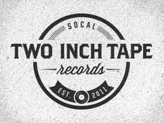 Dribbble - Two Inch Tape Logo 01.2 by Joshua Krohn