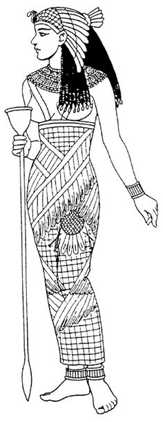 царица Древнего Египта