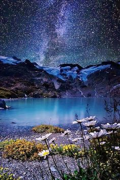 Stars and mountains!