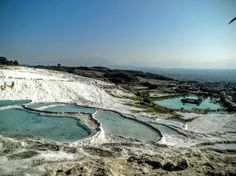 Good morning from #Pamukkale Cotton Castle