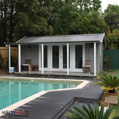 IN LOVE with this recent #poolcabana we installed in Turramurra!   . . .Our Pool Cabanas = No Council Required, 10 Year Warranty & Free Delivery in Sydney Metro! More info here: www.melwoodcedarsheds.com   #backyardcabana #melwoodcabanas #poolcabana #pool #summerfun #outdoors #holidays #christmasbreak #cabana #prefabbuilding #poolparty #outdoorretreat #christmasparty #summerholidays #sydney #australia
