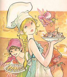 María Pascual Fantasy Illustration, Big Eyes, Childrens Books, Fairy Tales, Whimsical, Literature, Clip Art, Princess Zelda, Drawings