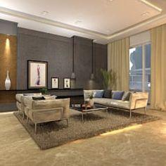 Salas de estar modernas por Ain Designs Studio