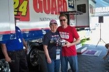 Carol Messinger, a NASCAR fan and cancer survivor, had her NASCAR dream come true thanks to Dale Earnhardt, Jr. and Pocono Raceway!